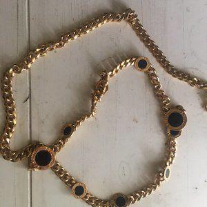 St. John Vintage Gold Chain Belt
